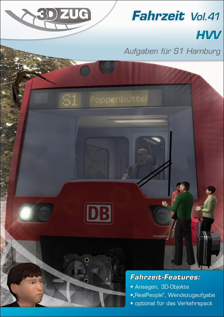 3DZUG - Fahrzeit Vol.41 \'HVV\' Weihnachtsausgabe